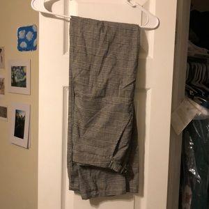 Brandy Melville Plaid pants.